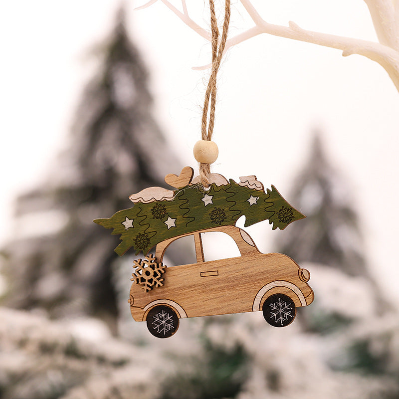 Wooden christmas ornaments for 2020