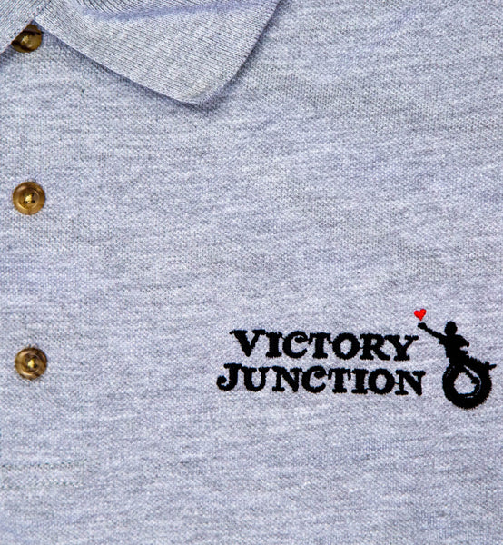 Victory Junction Grey Polo