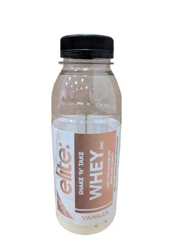 Elite: Shake 'N' Take Whey Protein