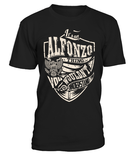 It's an ALFONZO Thing, You Wouldn't Understand