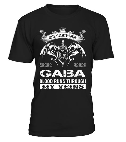GABA Blood Runs Through My Veins
