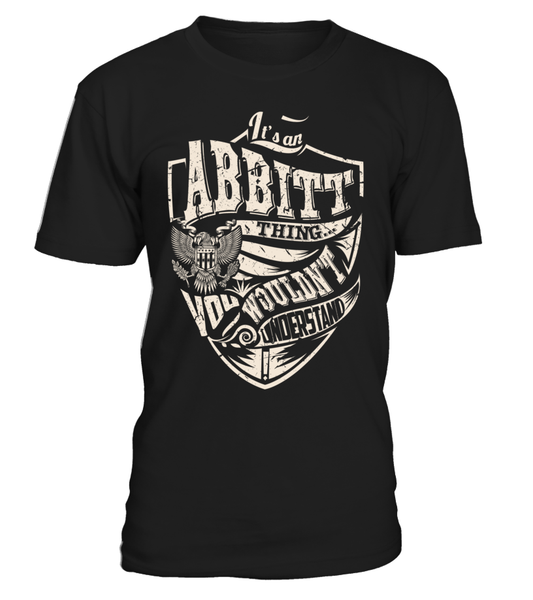 It's an ABBITT Thing, You Wouldn't Understand