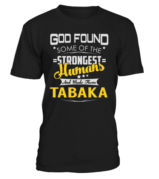 God Found Some of the Strongest Humans And Made Them TABAKA