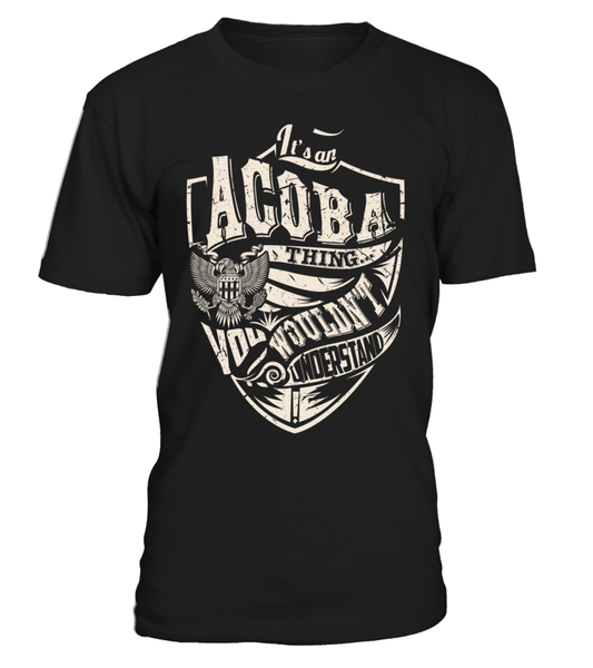 It's an ACOBA Thing, You Wouldn't Understand
