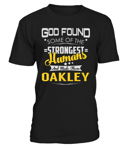 God Found Some of the Strongest Humans And Made Them OAKLEY