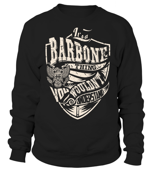 It's a BARBONE Thing, You Wouldn't Understand