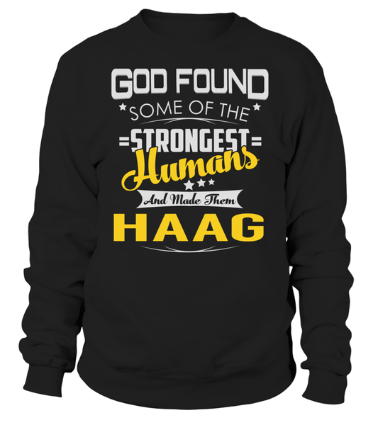 God Found Some of the Strongest Humans And Made Them HAAG