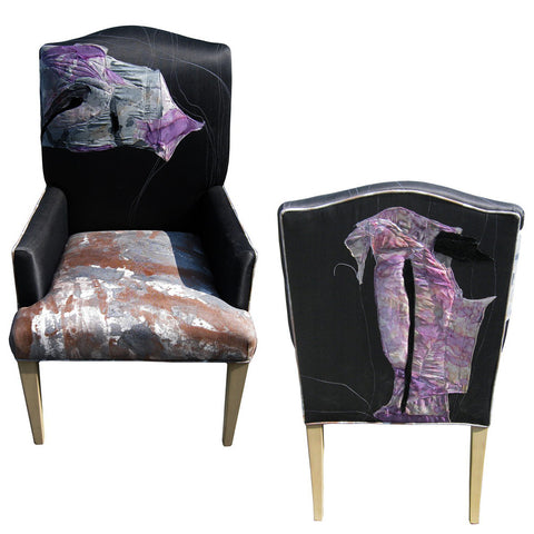 artsy dining chairs by Sara Palacios Designs