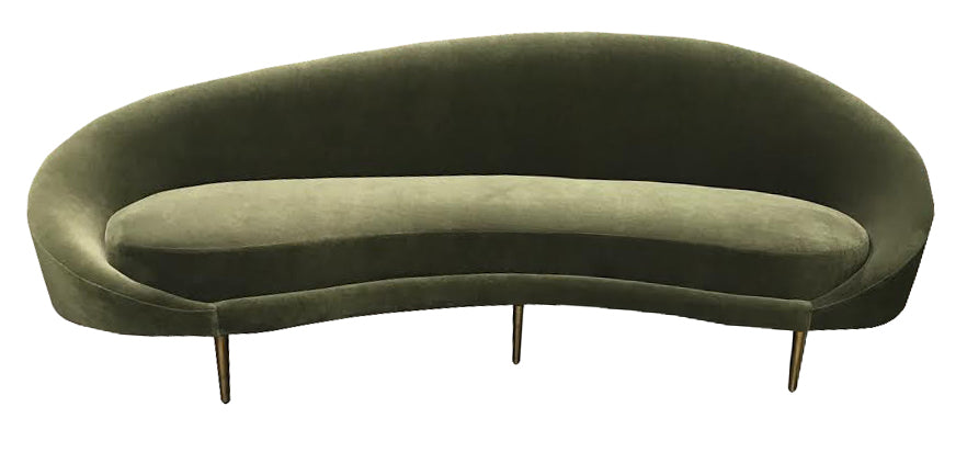 Fantastic Round Sofa Modern Couch Mid Century Modern Sofa Onthecornerstone Fun Painted Chair Ideas Images Onthecornerstoneorg