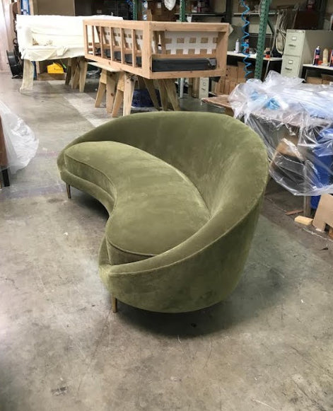 ... Round Sofa   Modern Couch   Mid Century Modern Sofa   SPD Custom  Furniture ...