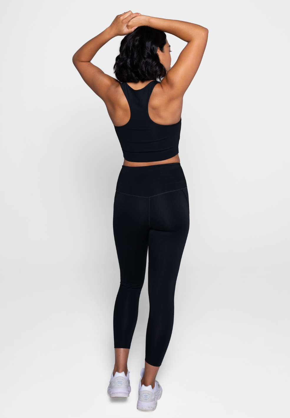 Compressive High Rise Legging 7/8 Black