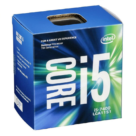 Intel Core i5 7400 3.0 - 3.5Ghz Socket 1151 Processor