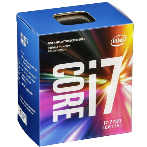 Intel Core i7 7700 Quad Core 3.6 - 4.2Ghz Retail