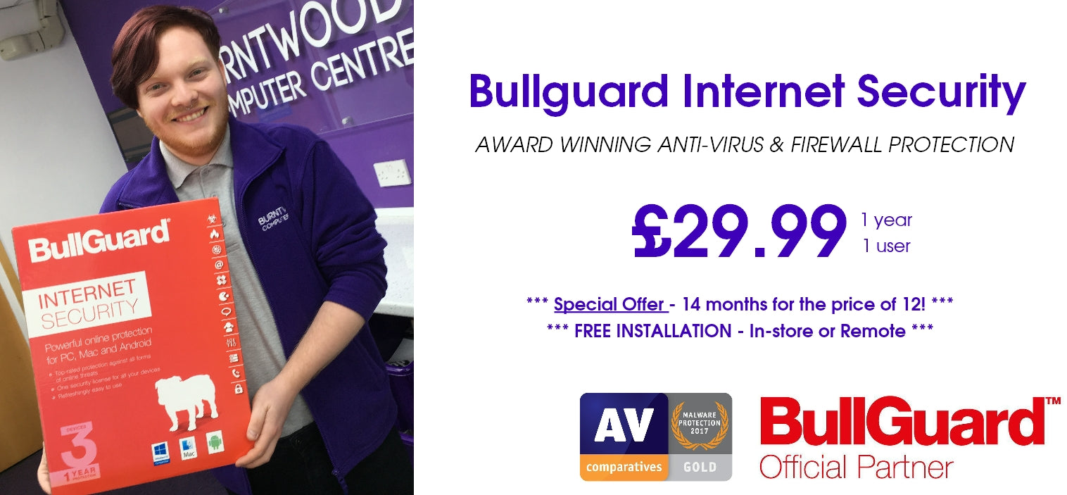 Bullguard Internet Security Special Offer