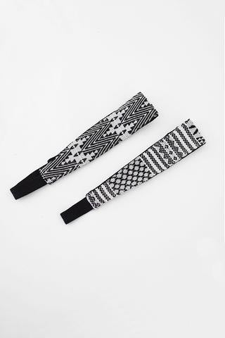 Geometric Woven Headband - Shop Cali Rose