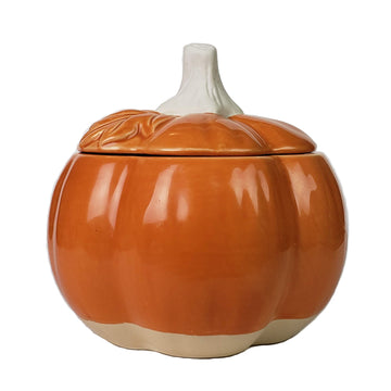Pumpkin Patch Ceramic Jar