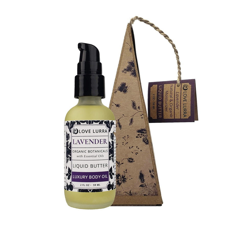 Lavender Liquid Butter with Box