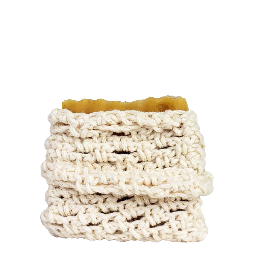 Organic Cotton Soap Saver