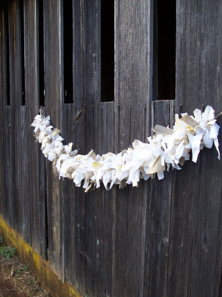 Original Fabric Garland for Weddings - Parties - Custom Colors & Sizes
