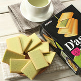 Load image into Gallery viewer, Dasses Langue De Chat Cookies & Matcha Chocolate Tea Dessert 12 Pieces