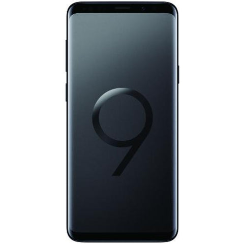Samsung Galaxy S9 Plus (G9650 256GB 4G LTE) Midnight Black - Front View
