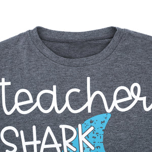 Teacher Shark Doo Doo Doo, T- Shirt - Yemaya Luna