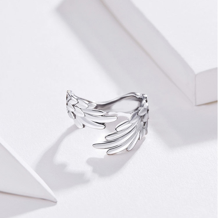 Guardian Angel Wings Ring, rings - Yemaya Luna