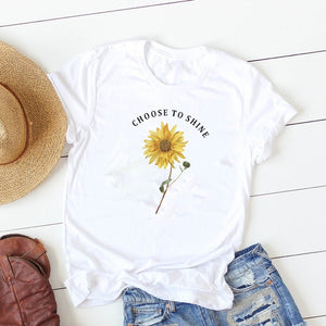 Choose to shine Short Sleeve T-shirt,  - Yemaya Luna