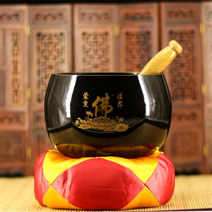 Buddhism Tibetan Copper Singing Bowl - Tibetan Singing Bowl, Metaphysical - Yemaya Luna