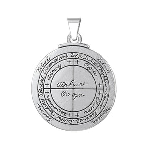 Good Luck Key of Solomon pendants amulet talisman, chain - Yemaya Luna