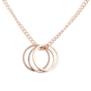 Karma Three Circle Necklace, chains - Yemaya Luna