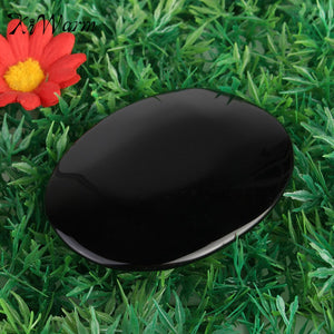 Exquisite Large  Obsidian Scrying Mirror, Metaphysical - Yemaya Luna