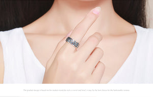 925 Sterling Silver Petals of Love Ring,  - Yemaya Luna