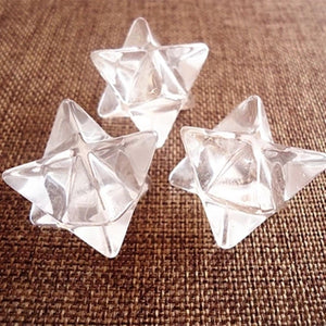 Natural Clear Quartz Crystal Merkaba,  - Yemaya Luna