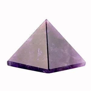 Assorted 40mm Pyramid Natural Stone Carved Point Chakra Healing Reiki Crystal, Metaphysical - Yemaya Luna