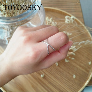 """Hallowed by thy name"" 925 Sterling Silver Cross Ring, rings - Yemaya Luna"