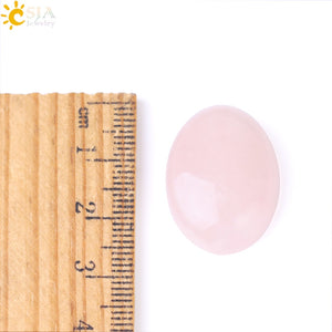 Rose Quartz Cabochon, Metaphysical - Yemaya Luna