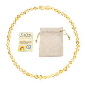 Genuine Natural Stone Necklace, chain - Yemaya Luna