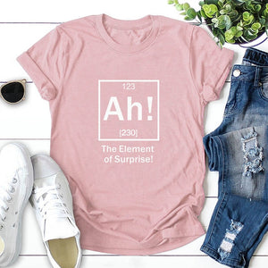 The Element of Surprise Print Short Sleeve, tshirt - Yemaya Luna