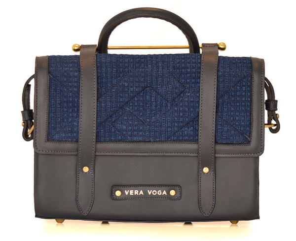Aura Satchel - Navy