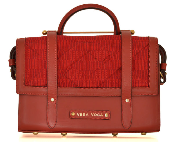 Aura Satchel - Red