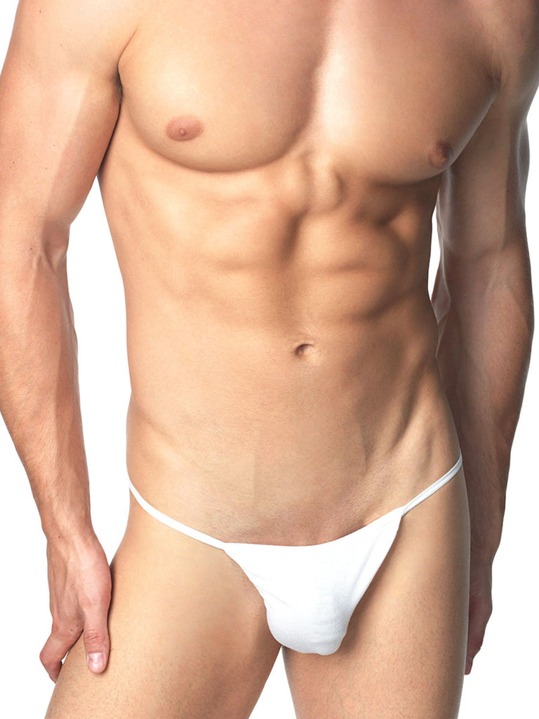 The Tactel Tanga White