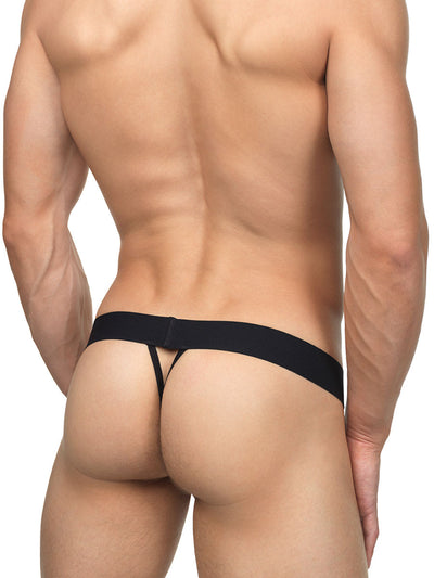 Men's floral lace pouch string thong