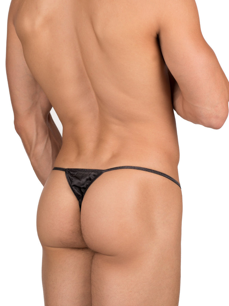 Silk Satin Thong