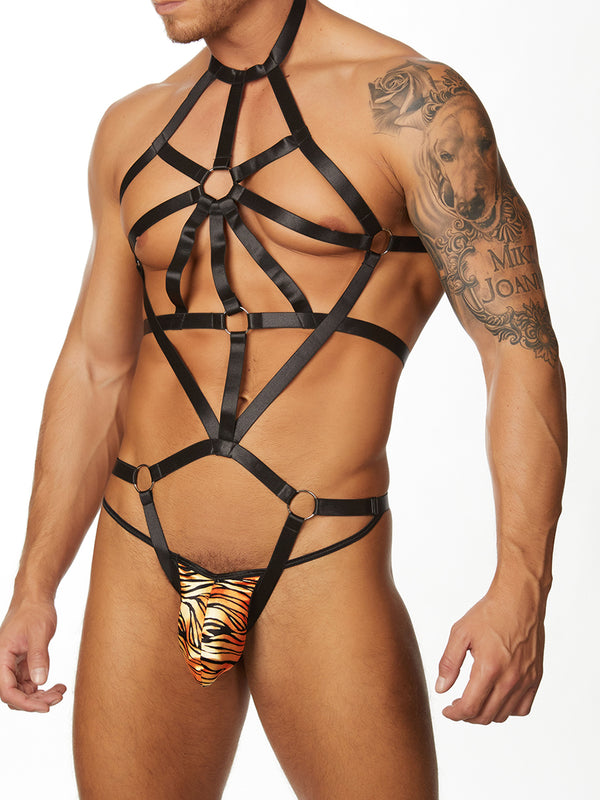 Men's Full Body Strappy Harness