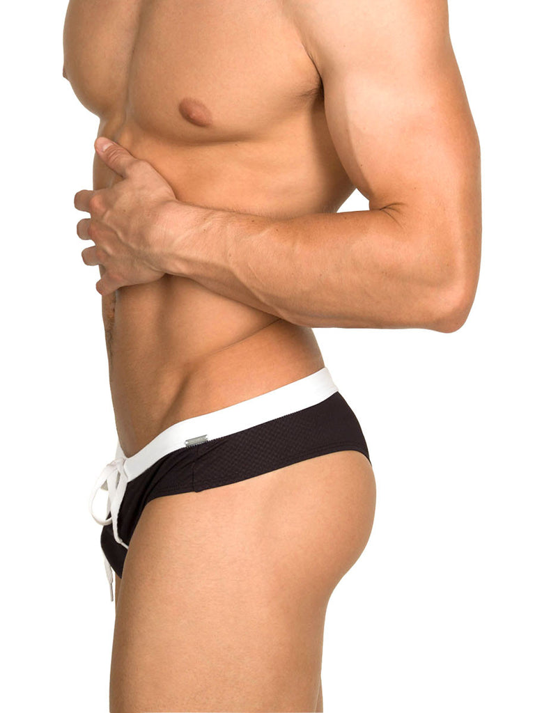 Black Onyx Swim Brief