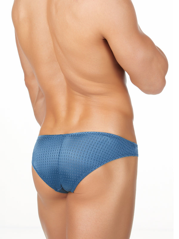 blue satin bikini briefs