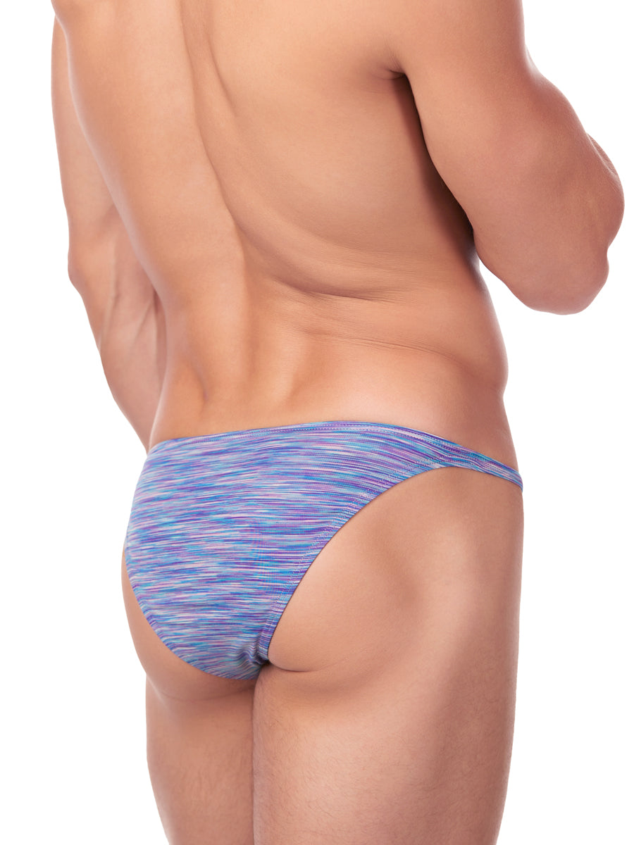 Men's purple tanga