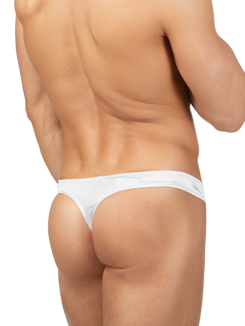 Men's Satin Bikini Thong