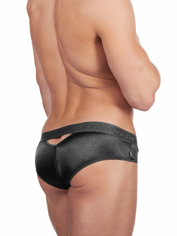 Peep-Show Satin Brief